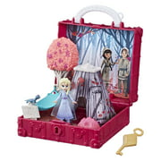 Frozen 2 Pop Adventures Enchanted Forest Playset With Handle, Elsa Doll