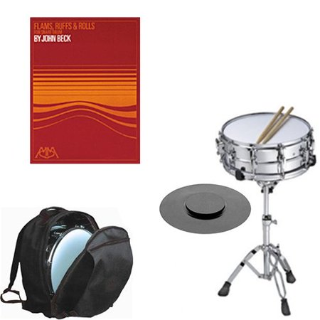 band directors choice complete student snare drum kit w stand backpack carry bag drum practice. Black Bedroom Furniture Sets. Home Design Ideas
