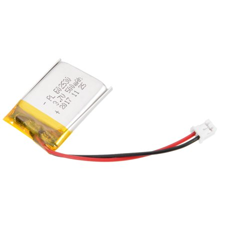 Power Supply DC 3.7V 500mAh 602530 Rechargeable Lithium Polymer Li-Po Battery