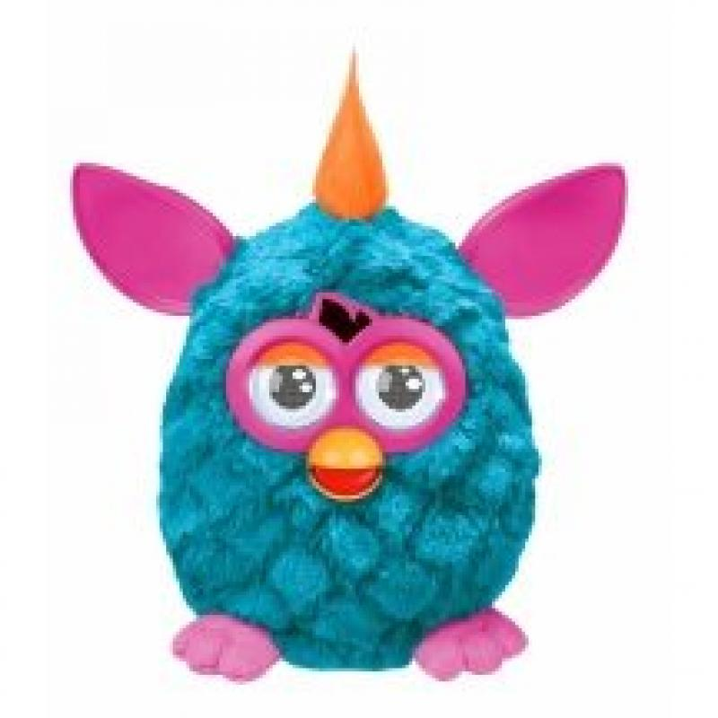 Furby Teal Pink Cool by
