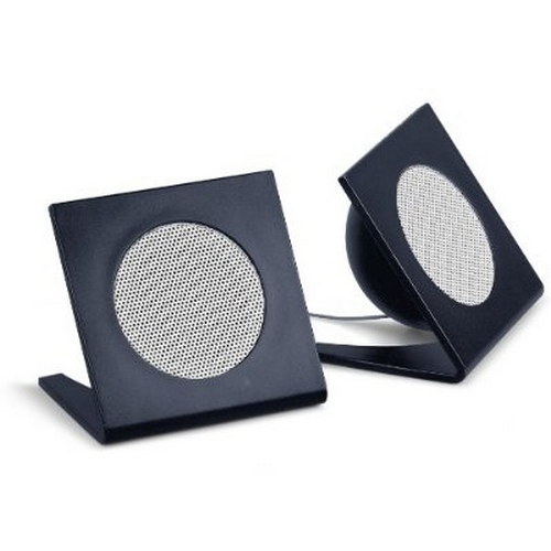 Refurbished Universal Square Stereo Speaker - Black (M-SPM210)