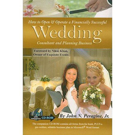 How to Open & Operate a Financially Successful Wedding Consultant & Planning