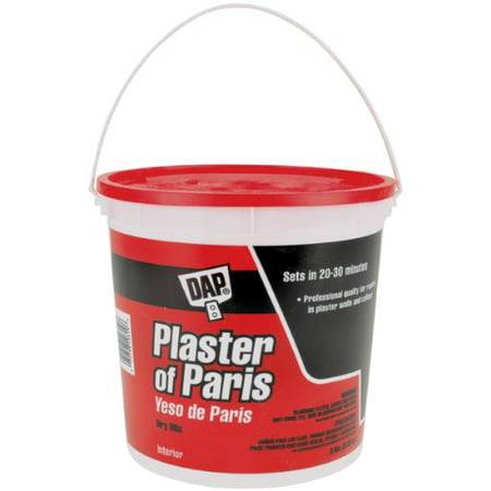 10310 Plaster of Paris Tub Molding Material, 8-Pound, White, Professional quality for repairs in plaster walls and ceilings By DAP