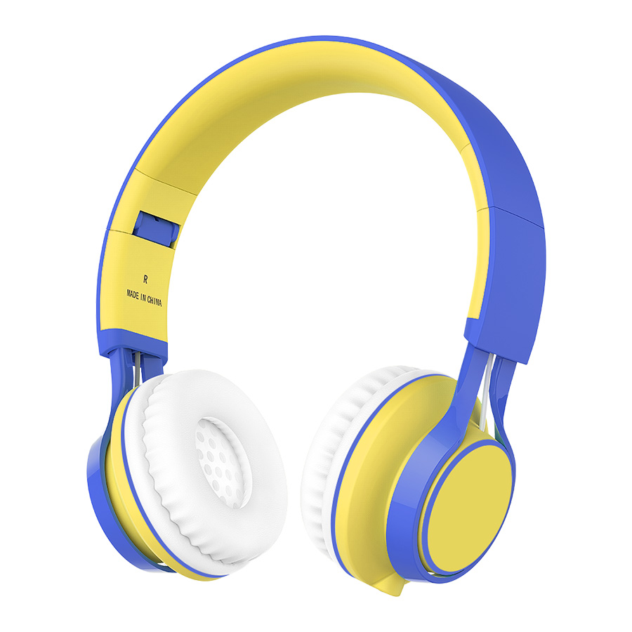 Headphones for girls with microphone - headphones with microphone long cable