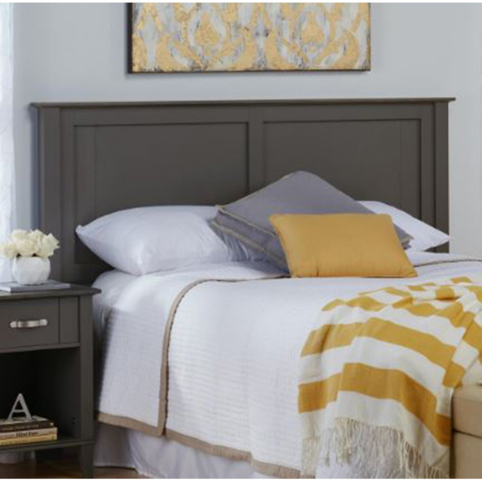 Ameriwood Home Quinn Full/Queen Headboard, Multiple Colors