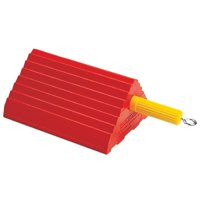 Roadblock UC1400-6 Impact-Absorbing Urethane Industrial Wheel Chock