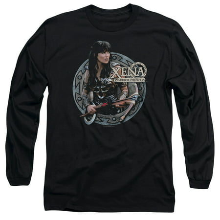Xena: Warrior Princess Men's  The Warrior Long Sleeve Black