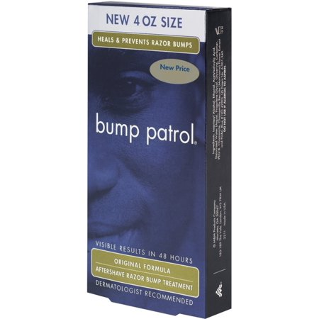 Bump Patrol Aftershave Razor Bump Treatment Original Formula, 4 oz