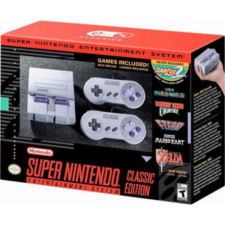 Super Nintendo Entertainment System SNES Classic Edition (Super System 2)