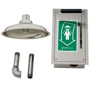 Haws 8164 Stainless Steel Flush To Ceiling-Mount