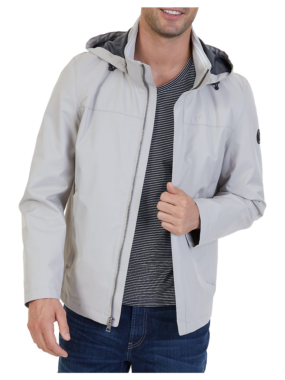 Water Repellent Hooded Jacket