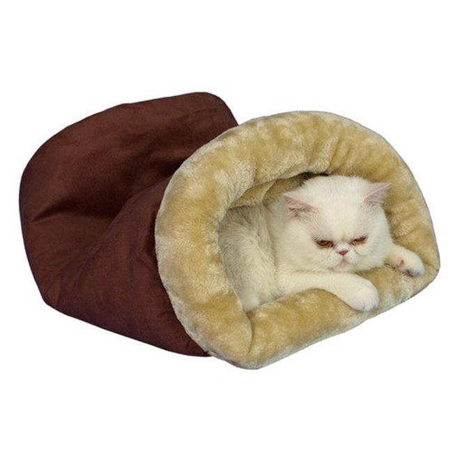 C15HTH-MH Armarkat Pet Bed Cat Bed 22 x 10 x 14 - Indian Red & Beige