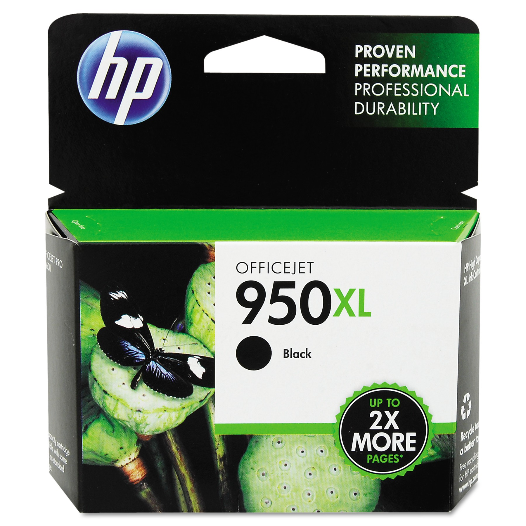 HP 950XL High Yield Black Original Ink Cartridge