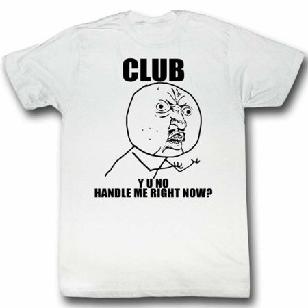 Y U No Memes Drew Adult Short Sleeve T - Anti Halloween Memes