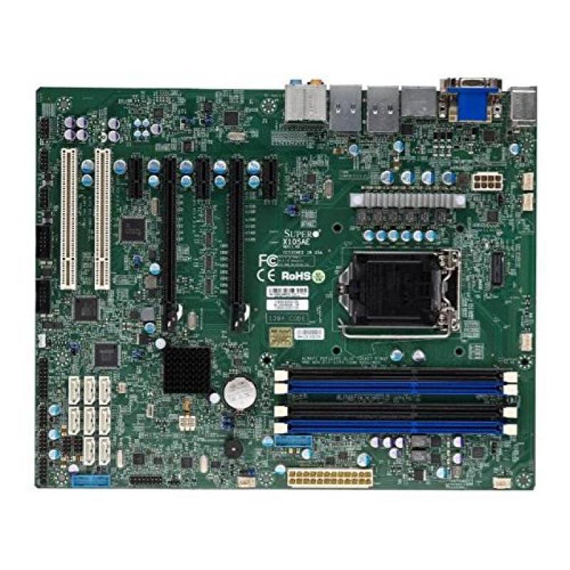 Super Micro X10SAE-B LGA1150/ Intel C226 PCH/ DDR3/ SATA3...