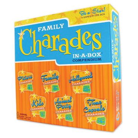 Charades Pictionary (Outset Family Charades in-a-box)