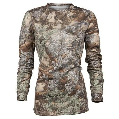 King's Camo Womens Hunter Long Sleeve Shirt Desert - Womans Desert Camouflage