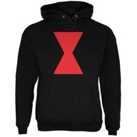 Halloween Black Widow Black Adult Hoodie