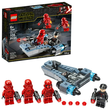 LEGO Star Wars Sith Troopers Battle Pack 75266 Stormtrooper Speeder Vehicle Building Kit (105