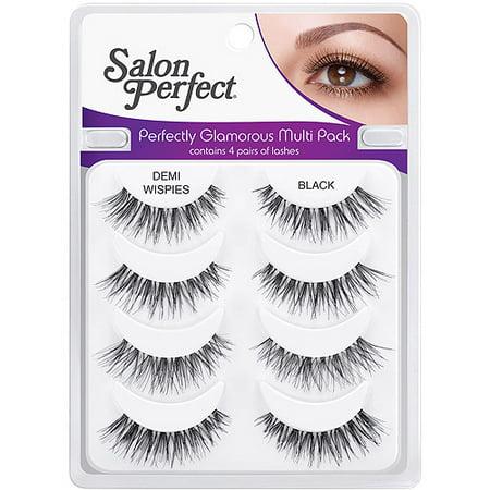 Salon Perfect Perfectly Glamorous Multi Pack Eyelashes ...