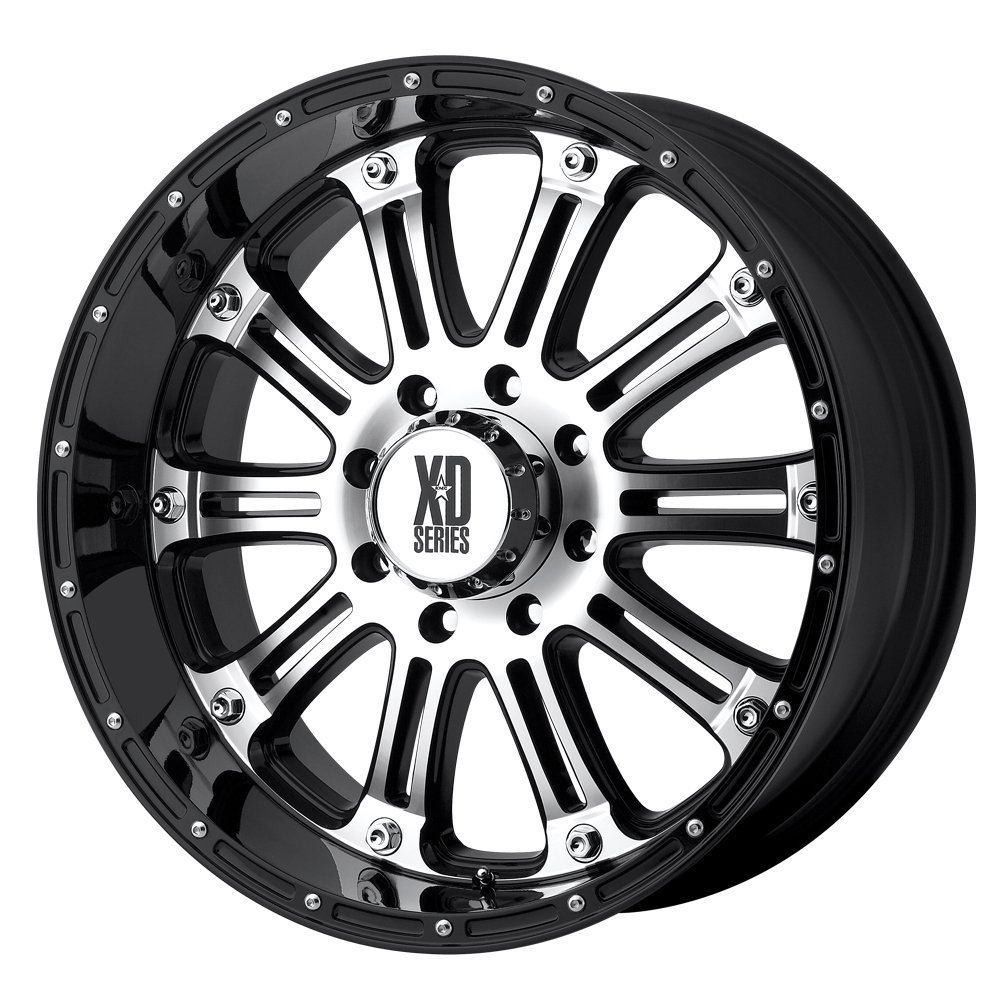 "XD-Series 795 Hoss Gloss Black Machined Wheel (20x9""/8x170mm)"