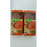 Trader Joes Tomato and Roasted Red Pepper Soup Low Sodium Pack of 2