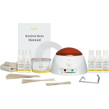 Gigi Microwave Sensitive Tweezeless Wax - Gigi Mini Pro Waxing Kit