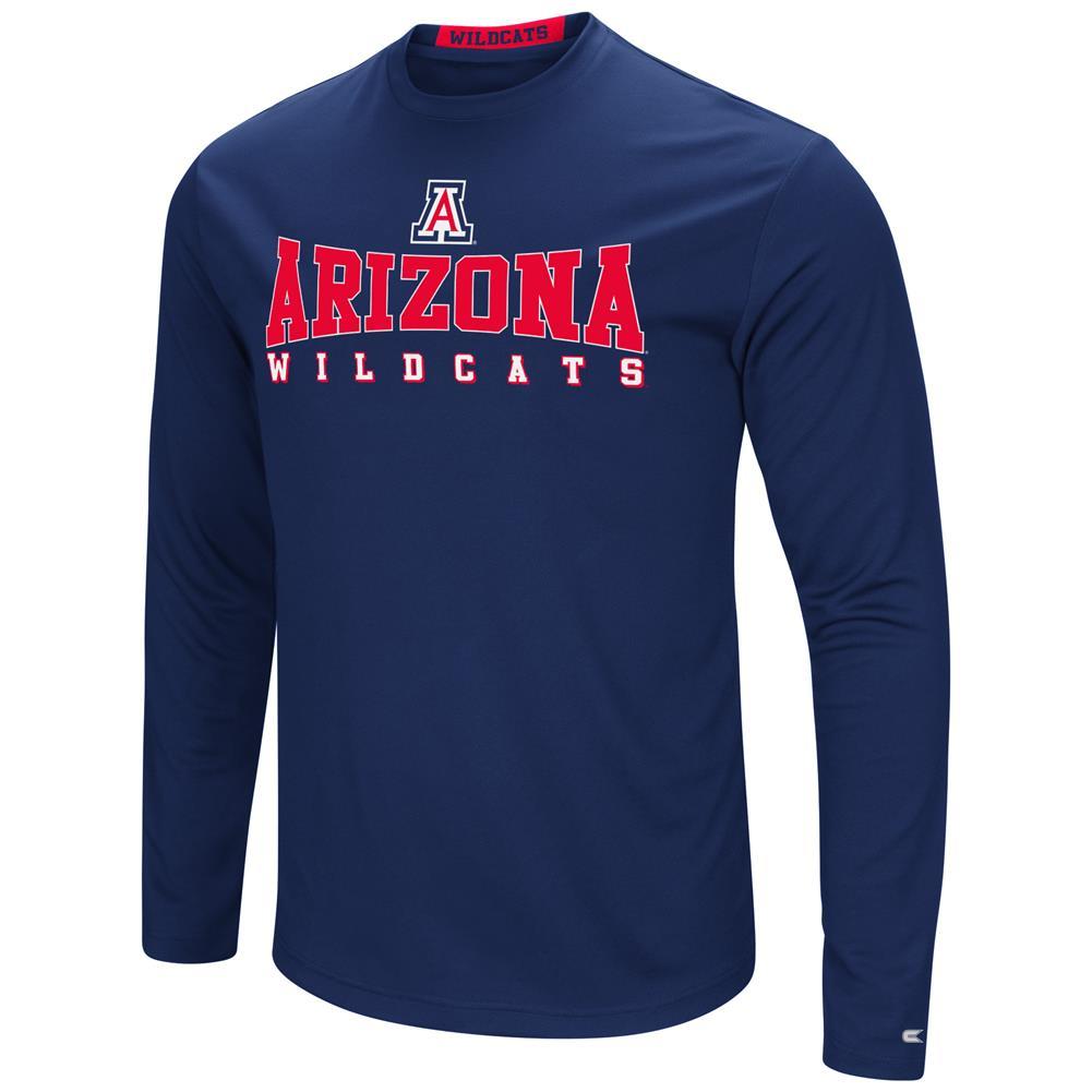 Arizona Wildcats T-Shirt Performance Long Sleeve Shirt