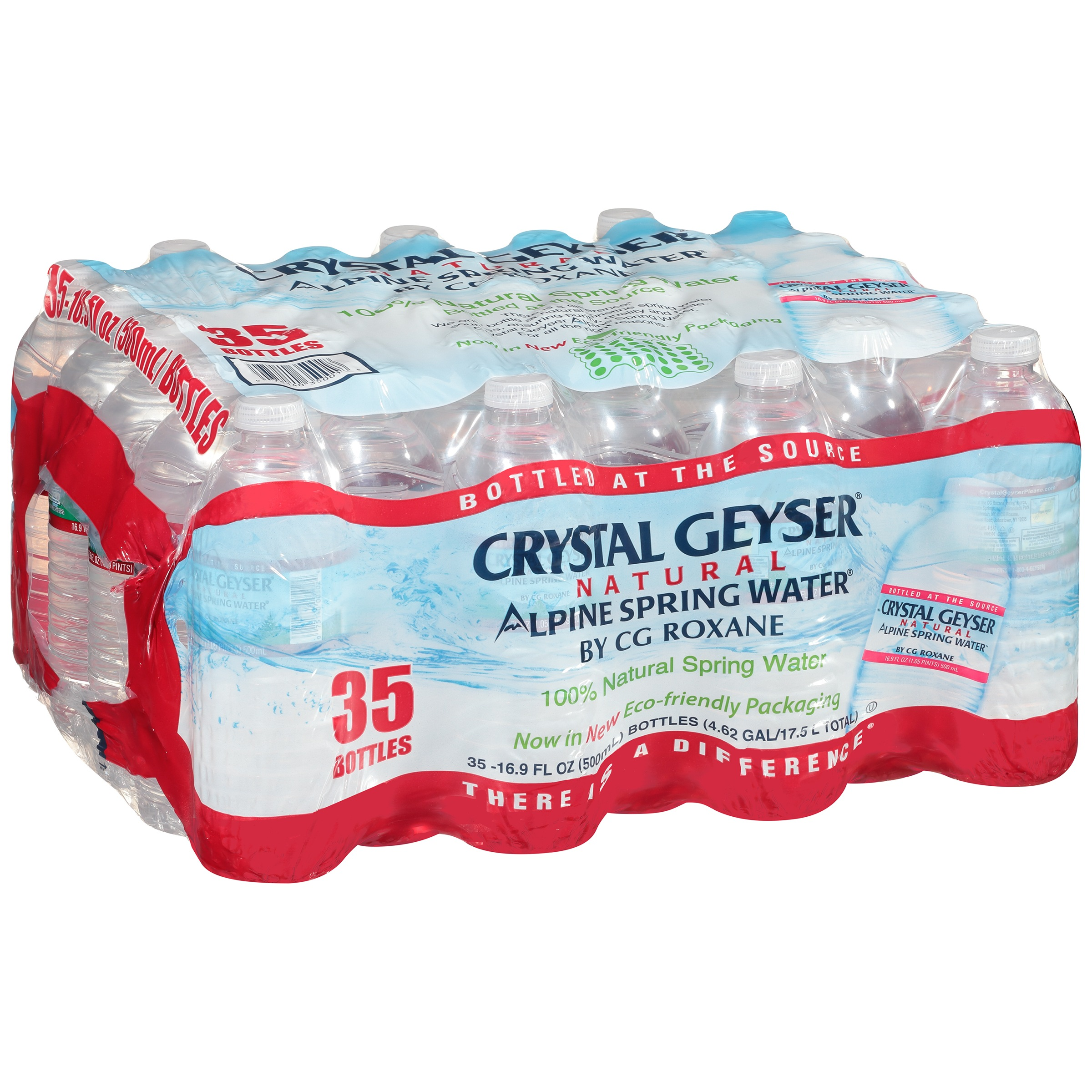 Crystal Geyser® Natural Alpine Spring Water® 35 Ct Plasti...