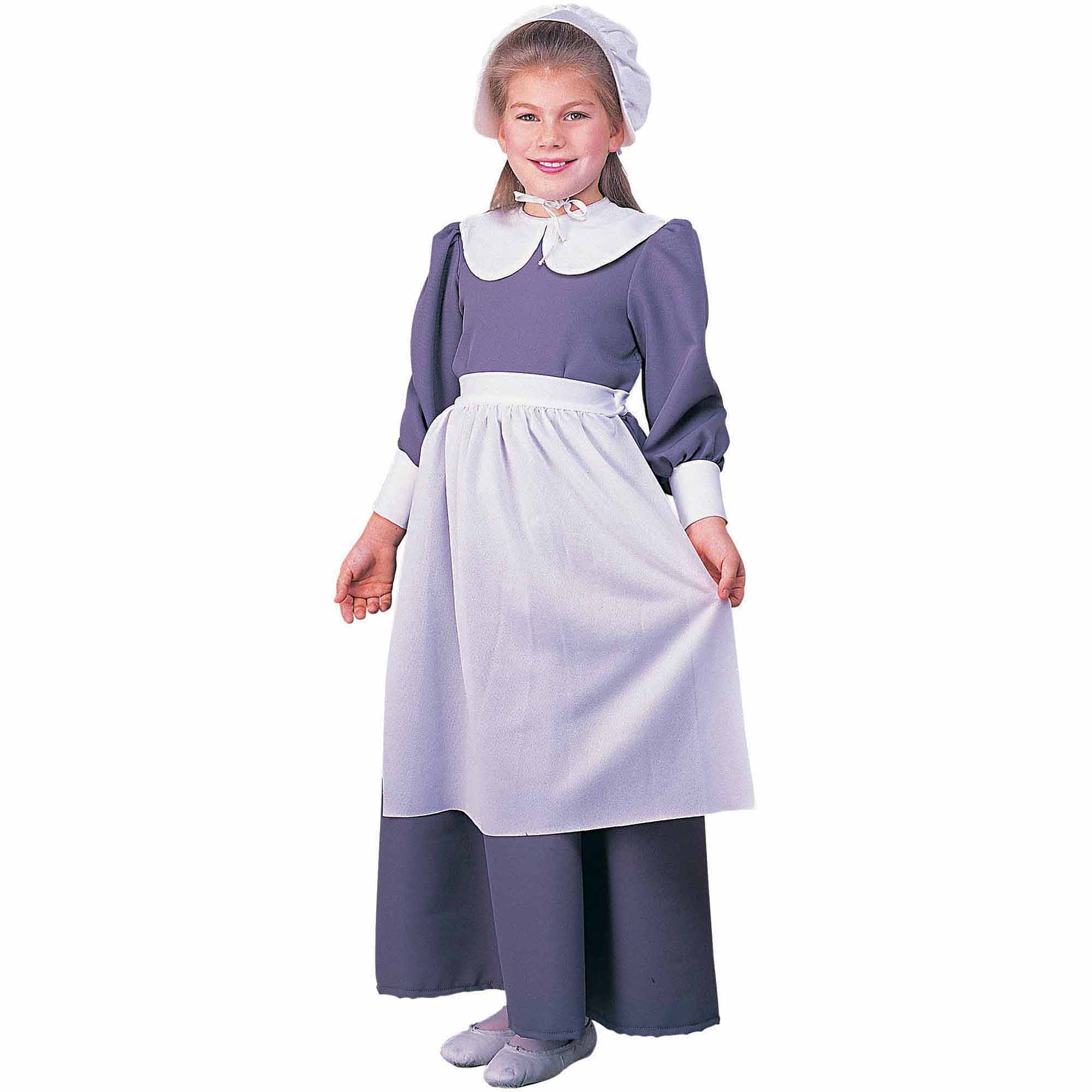 sc 1 st  Walmart & Pilgrim Girl Child Halloween Costume - Walmart.com
