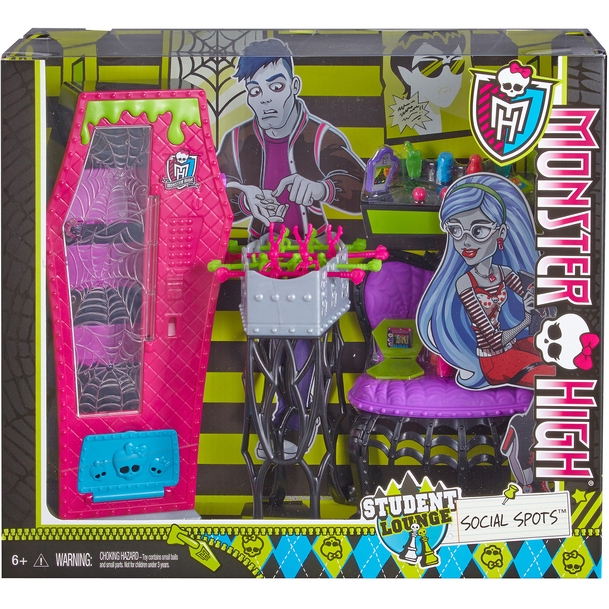 Monster High School Accessory Student Lounge Walmart