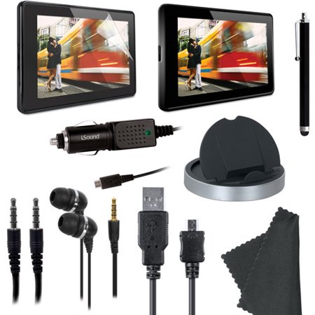 i.Sound Essentials Kit 9 Essential Items - Accessory kit - for Amazon Kindle Fire (Amazon Kindle Trade In Program)