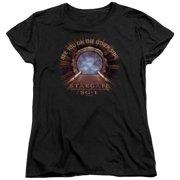 Stargate SG1 Other Side Womens Short Sleeve Shirt