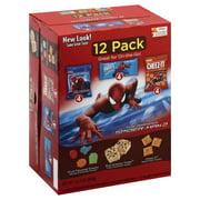 Keebler Rice Krispies Treat Rainbow, Fruit Flavored Snacks, & Cheez-It Baked Original Snack Variety Pack, 10.4 Oz., 12 Count