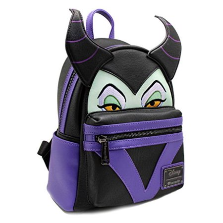 Mini Backpack Disney Maleficent Face New Wdbk0409