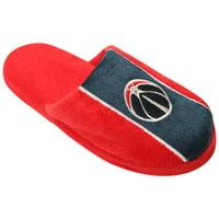 Washington Wizards Youth Big Logo Stripe Slippers