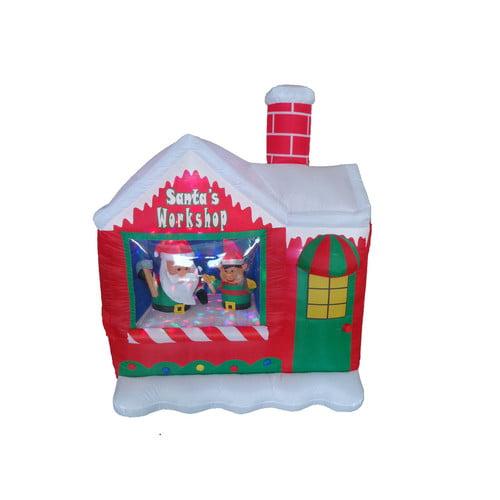BZB Goods Santa's Workshop Christmas Decoration