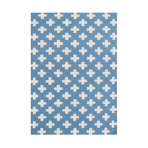 Wildon Home  Akeela  Hand-Tufted Blue Area Rug