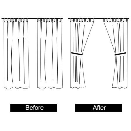 Metal Ball Window Drapery Tie Backs Curtain Holdback Hold