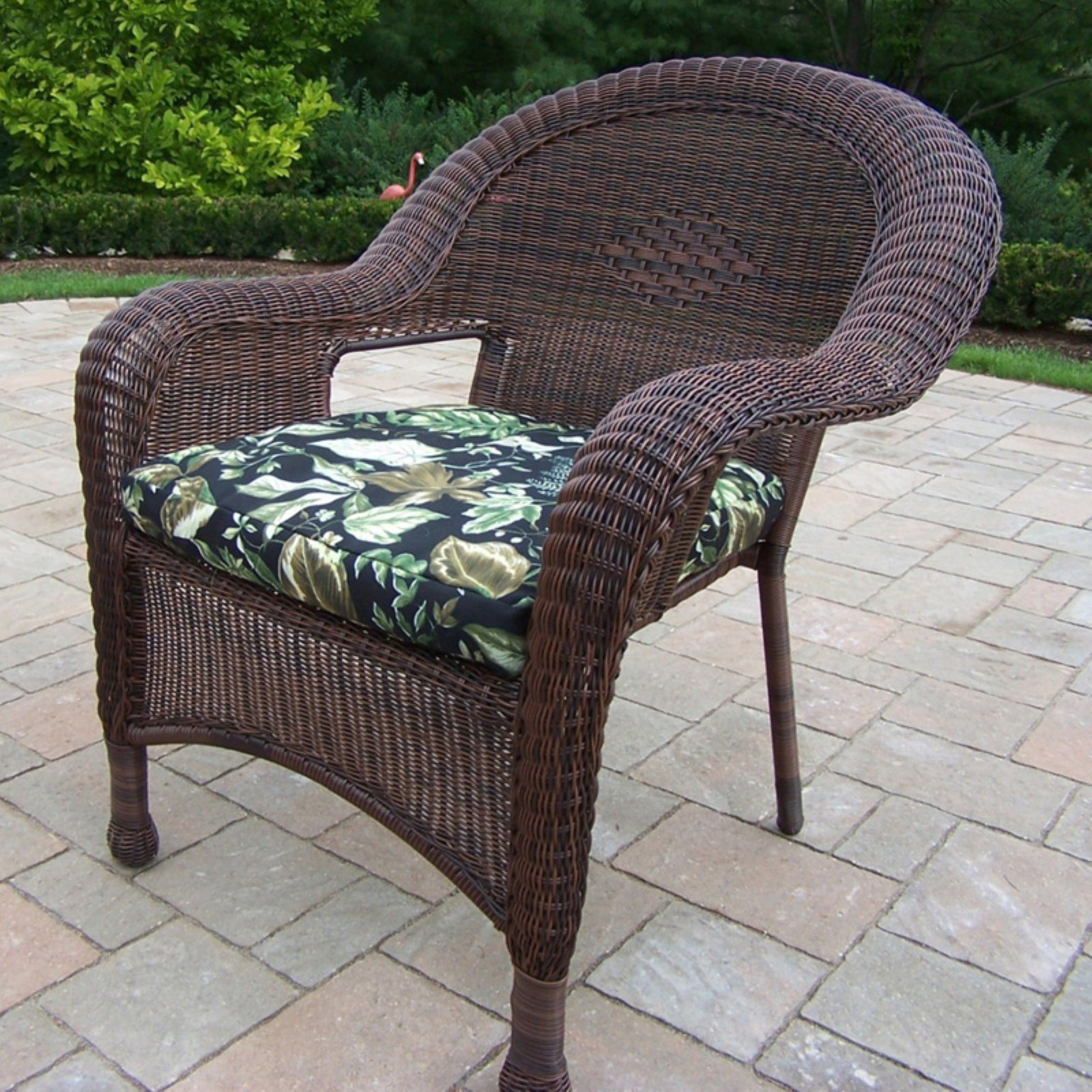 Oakland Living All-Weather Wicker Armchair by Oakland Living