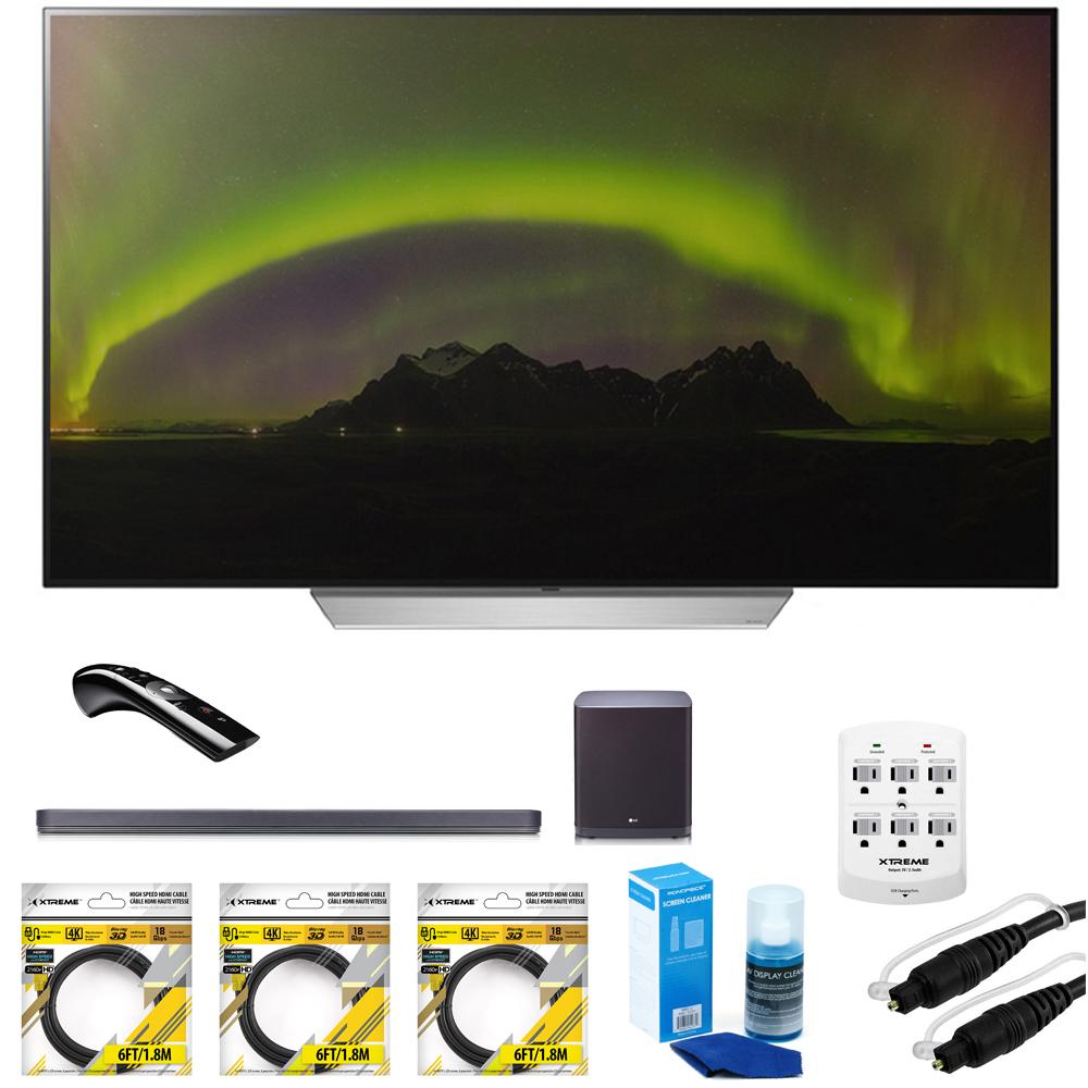"LG 55"" C7P OLED 4K HDR Smart TV (OLED55C7P) with Hi-Resol..."