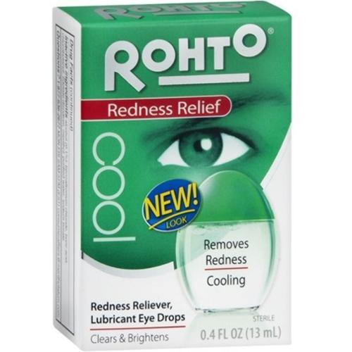 Rohto Cool Eye Drops 0.40 oz (Pack of 6)
