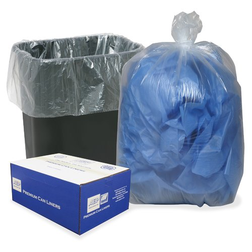 WEBSTER INDUSTRIES                                 Opaque Linear Low Density 16-Gal. Trash Bags