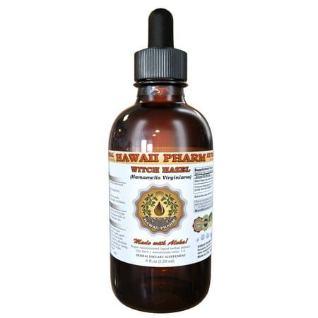 Witch Hazel (Hamamelis Virginiana) Tincture, Organic Dried Bark Powder Liquid Extract, American Witch-hazel, Herbal Supplement 2 oz Witch Hazel Bark Powder