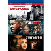 Safe House   Inside Man   The Bone Collector (DVD) by Universal Pictures