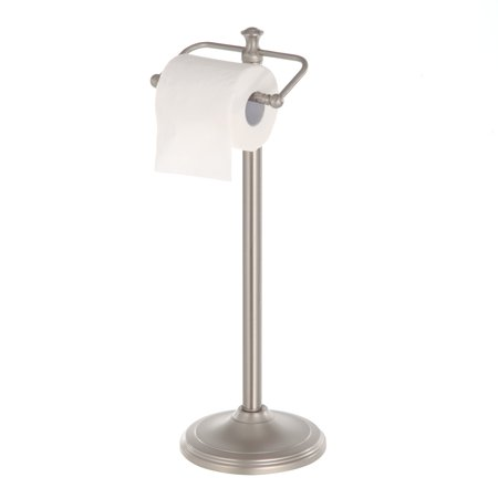 Better Homes & Garden - Satin Nickel Standing Toilet Paper