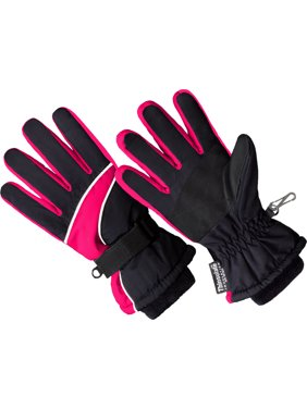 SK1007, Girls Premium Ski Glove, 3M Thinsulate Lined (One Size Fits Most)