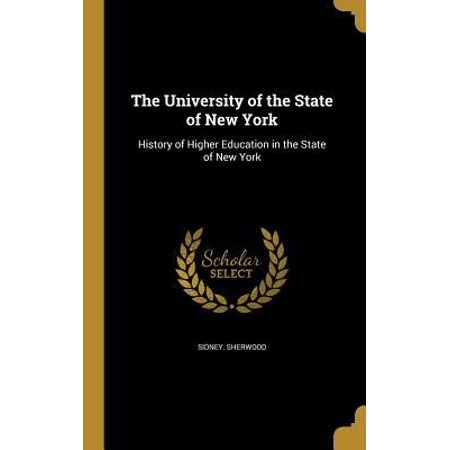 The University Of The State Of New York  History Of Higher Education In The State Of New York