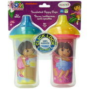 Sippy Cup - Dora the Explorer - (Colors/Styles May Vary) 9oz 2Pcs New 15416