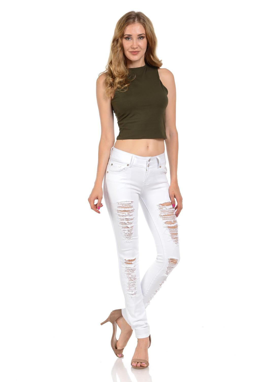 M.Michel Women's Jeans Colombian Design, Butt Lift, Levanta Cola, Push Up, Skinny · Style X27-R